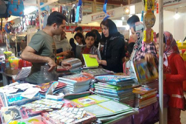 نمایشگاه فروش پاییزه در قزوین فعالیت خود را شروع کرد