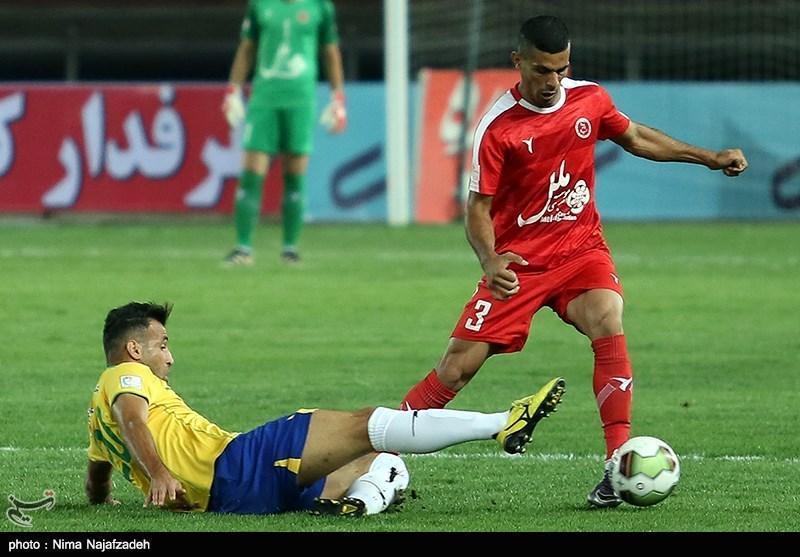 لیگ برتر فوتبال، تساوی یک نیمه ای پدیده و تراکتورسازی