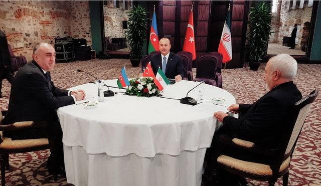 نشست وزرای امور خارجه ایران، ترکیه و آذربایجان