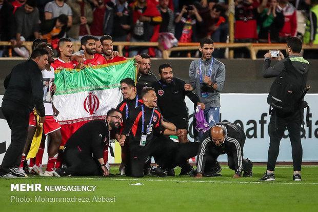 قلبم می گوید پرسپولیس با حمایت هوادارانش قهرمان آسیا می گردد