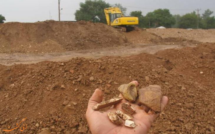 سرنوشت اسفبار تپه تاریخی 5000 ساله که زیر 50 تن زباله مدفون شده!