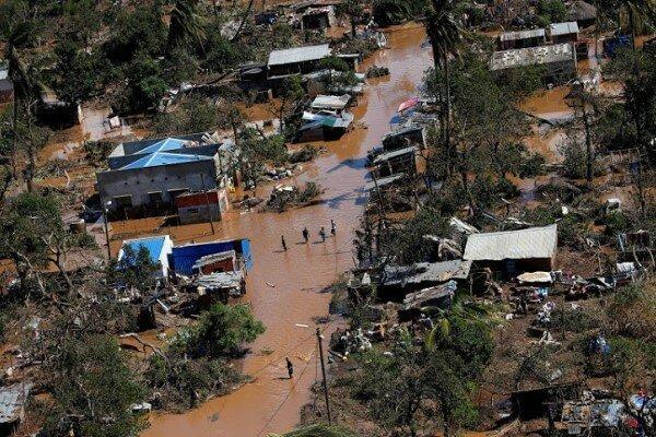 417 کشته در اثر وقوع طوفان و سیل در موزامبیک