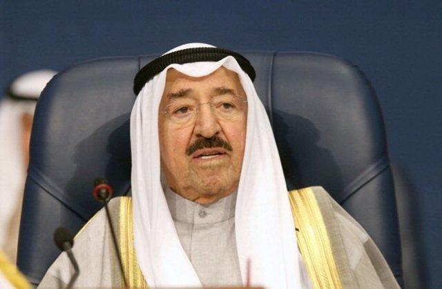 حضور امیر کویت در انظار عمومی پس از عارضه جسمانی