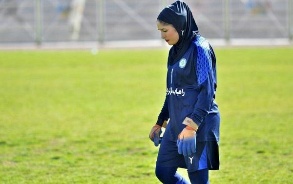 دروازه بان تیم ملی فوتبال زنان: بزرگترین هدفم لژیونر شدن است، به سبک بازی بیراوند و نیازمند علاقه دارم